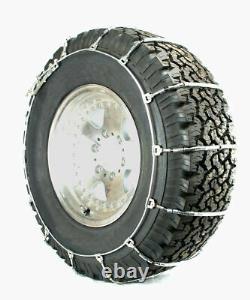 Chaînes De Pneus De Câbles Titan Camion Léger Routes Couvertes De Neige Ou De Glace 10.3mm 255/75-17