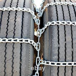 Chaînes De Pneus De Camion Titan Dual/triple Sur Route Snowithice 5,5mm 245/75-17