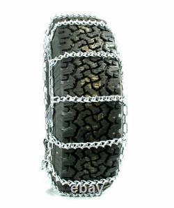 Chaînes De Pneus Titan V-bar Type Cam Routes Couvertes De Glace Ou De Neige 5,5mm 35x10.50-15