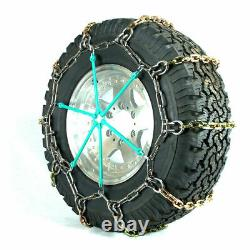 Titan Hd Alloy Square Link Tire Chains On/off Road Ice/snowithmud 7mm 245/75-16