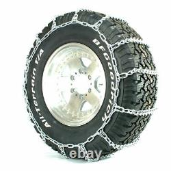 Titan Light Truck V-bar Tire Chains Ice Or Snow Covered Roads 5.5mm 235/80-17