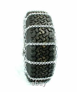 Titan Light Truck V-bar Tire Chains Ice Or Snow Covered Roads 5.5mm 265/75-16