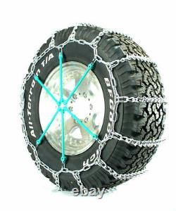 Titan Light Truck V-bar Tire Chains Ice Or Snow Covered Roads 5.5mm 275/55-20