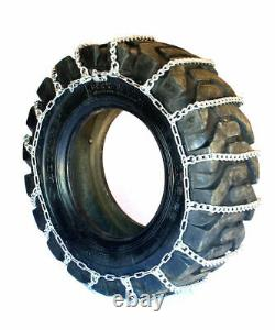 Titan Tractor Link Tire Chains Snow Ice Mud 10mm 12.4-24