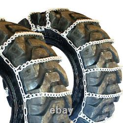 Titan Tractor Link Tire Chains Snow Ice Mud 10mm 15-19.5