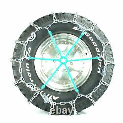 Titan V-bar Tire Chains Cam Type Ice Or Snow Covered Roads 5.5mm 225/70-19.5