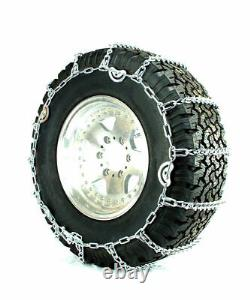Titan V-bar Tire Chains Cam Type Ice Or Snow Covered Roads 5.5mm 275/65-18